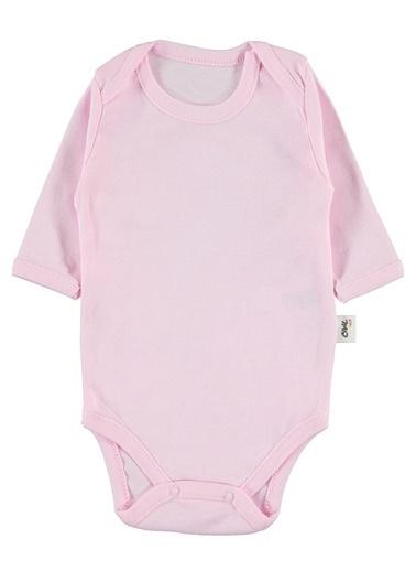 Civil Baby Bebek Çıtçıtlı Badi Pembe Pembe